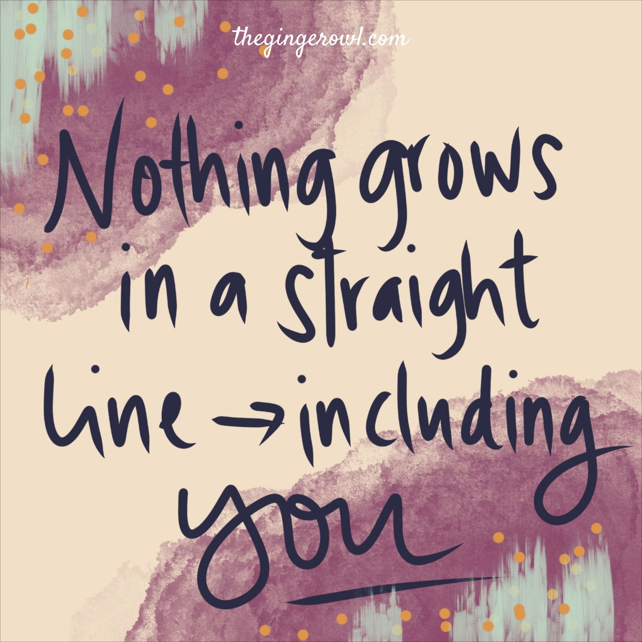Growth Is Messy Growth Reminder Linear