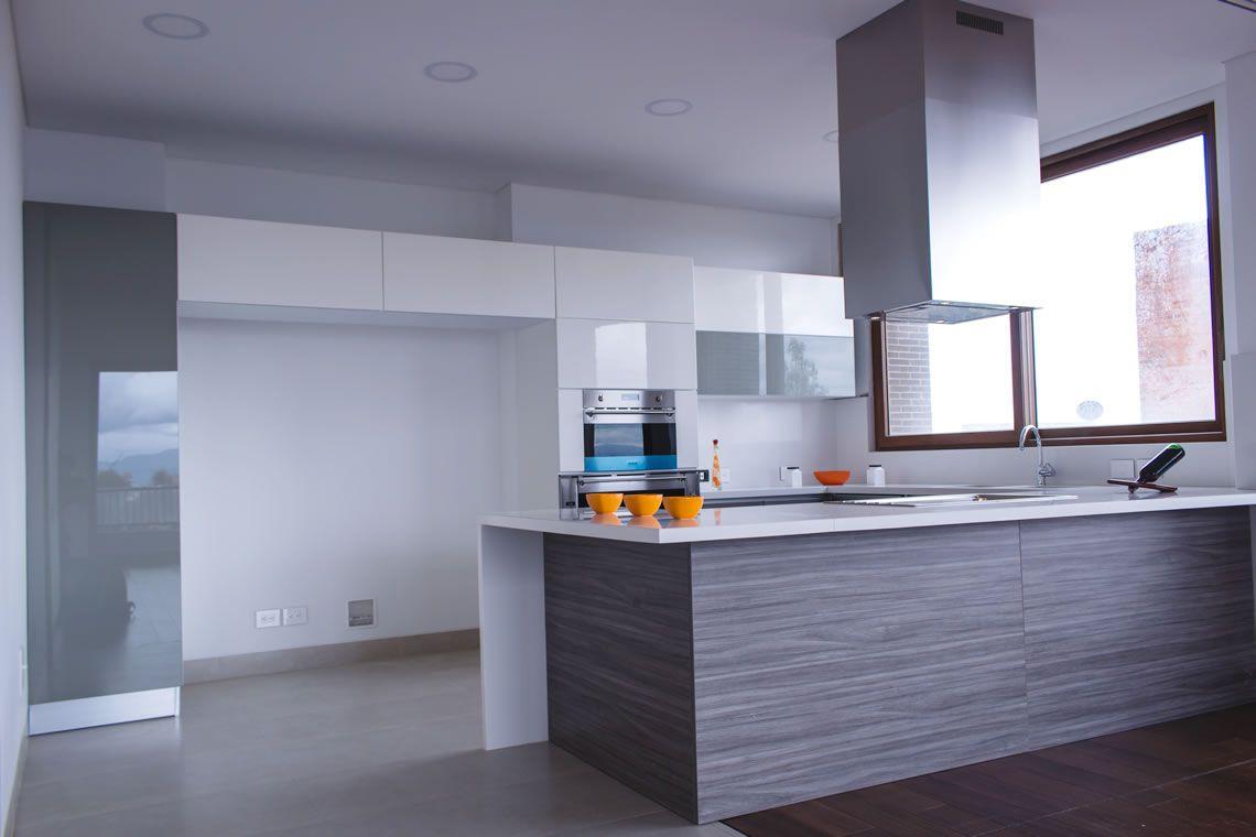 Las cocinas integrales modernas lucen elegantes y a la vez simples ...