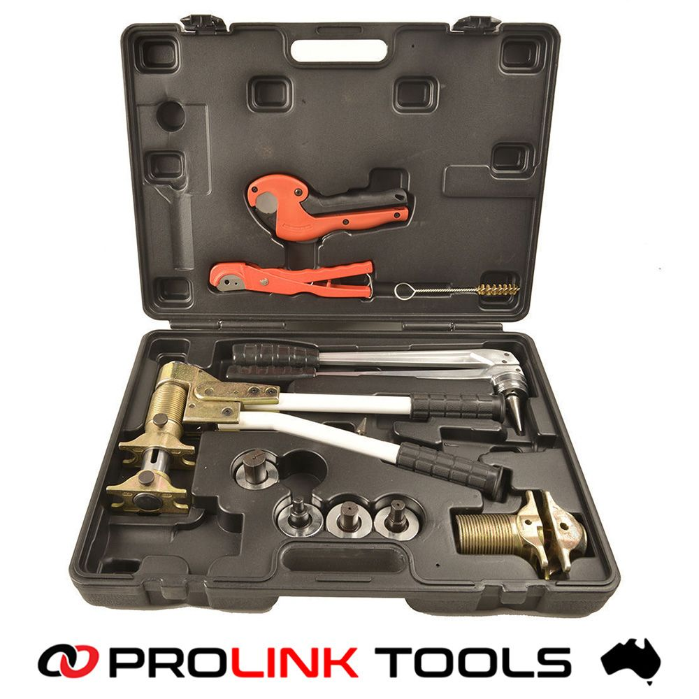 Pex 1632 Manual Pex Rehau Sleeve Press Tool Kit Prolink Tools Plumbing Tools Pex Tubing Wood Crafting Tools