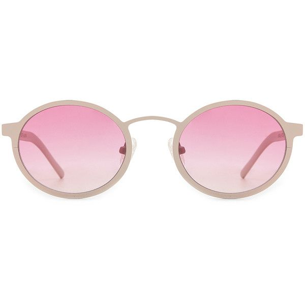 Pin By Iffah Fathin On Style: BLYSZAK Style II Metal Sunglasses (1,225 MYR) Liked On