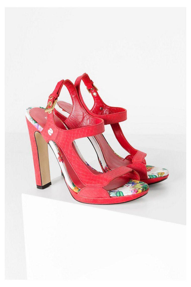 Zapatos rojos Desigual para mujer Ctlfd744oU