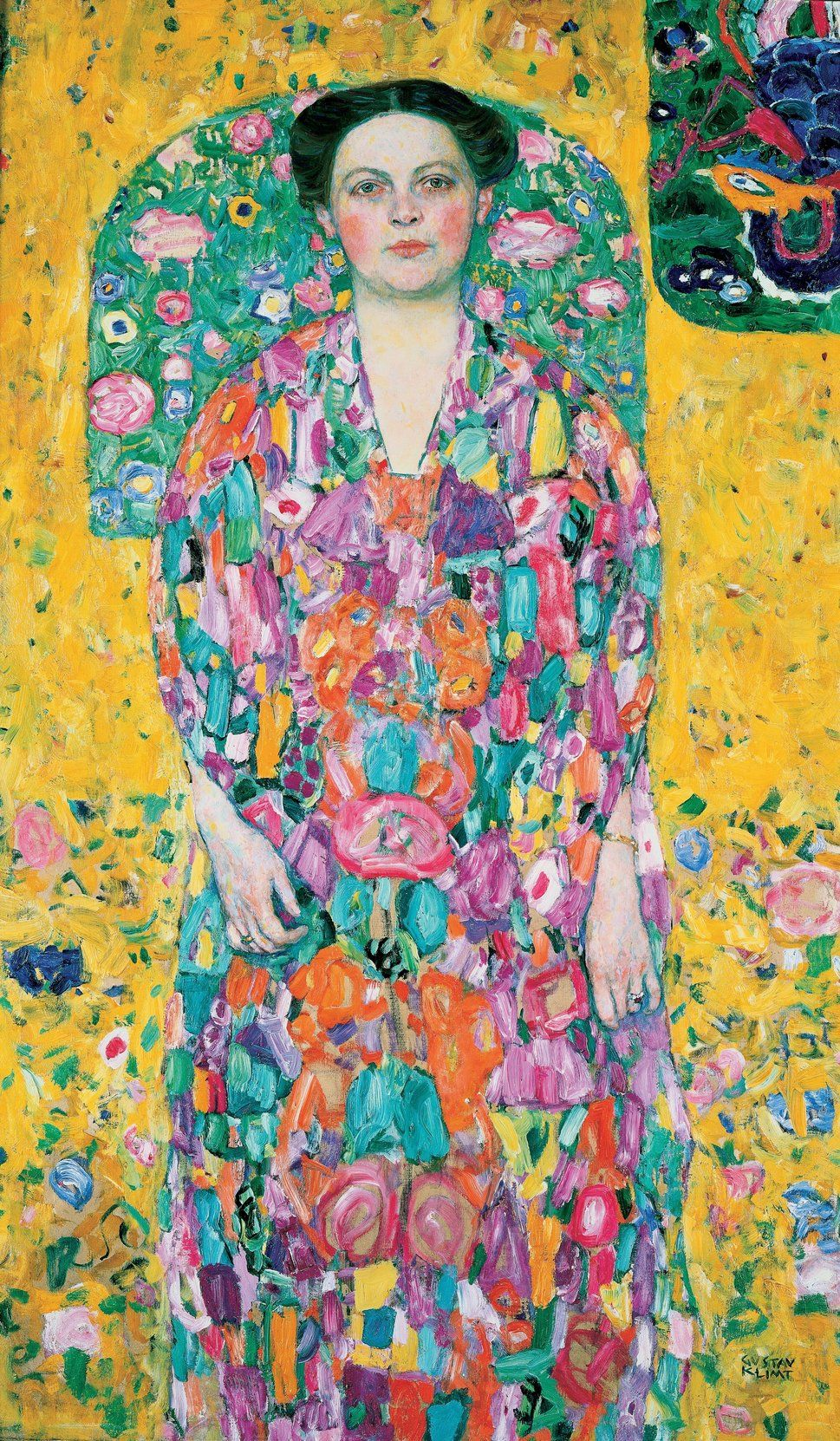 The Story Behind Gustav Klimt S Portrait Of An Independent 9 Year Old Girl Klimt Art Gustav Klimt Art Klimt