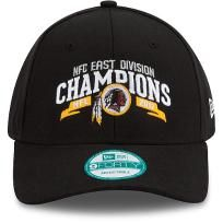 ... official store mens new era washington redskins 2012 nfc east division champions  9forty structured adjustable hat c2e3be91a