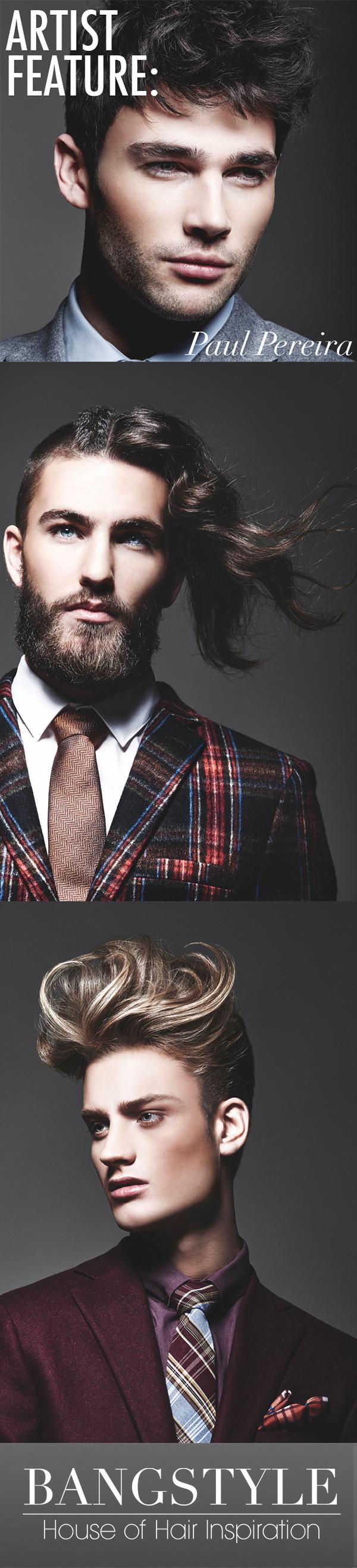 Mens haircut tutorials artist feature paul pereira  hair tutorials  consigue el estilo