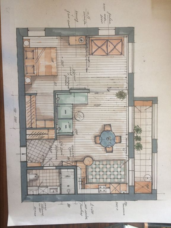 Planos architecturaldrawing architectural drawing