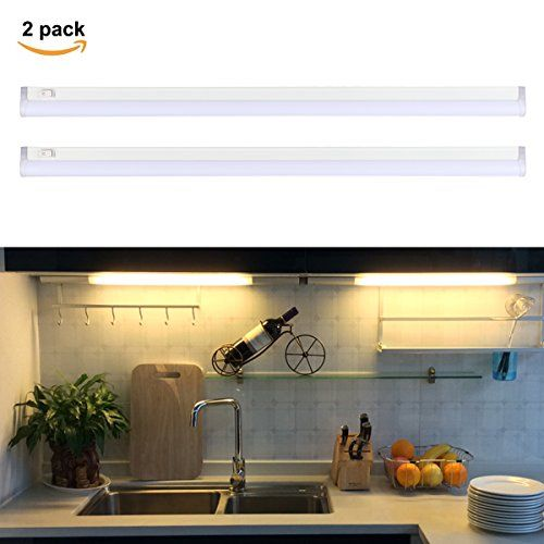 From 25.99 Su0026g Led Under Cabinet Lights 45cm 12w T5 Ultra Thin Under  Counter Strip