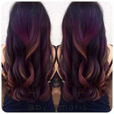 Tropical Sunset Balayage With Images Low Maintenance Hair