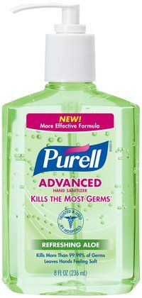 Purell Instant Hand Sanitizer With Aloe Hand Sanitizer