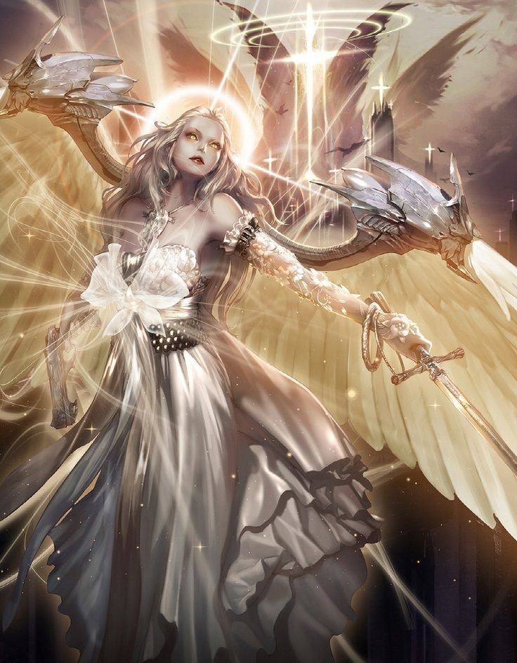 Resultado de imagem para gifs de animes de anjos dourados