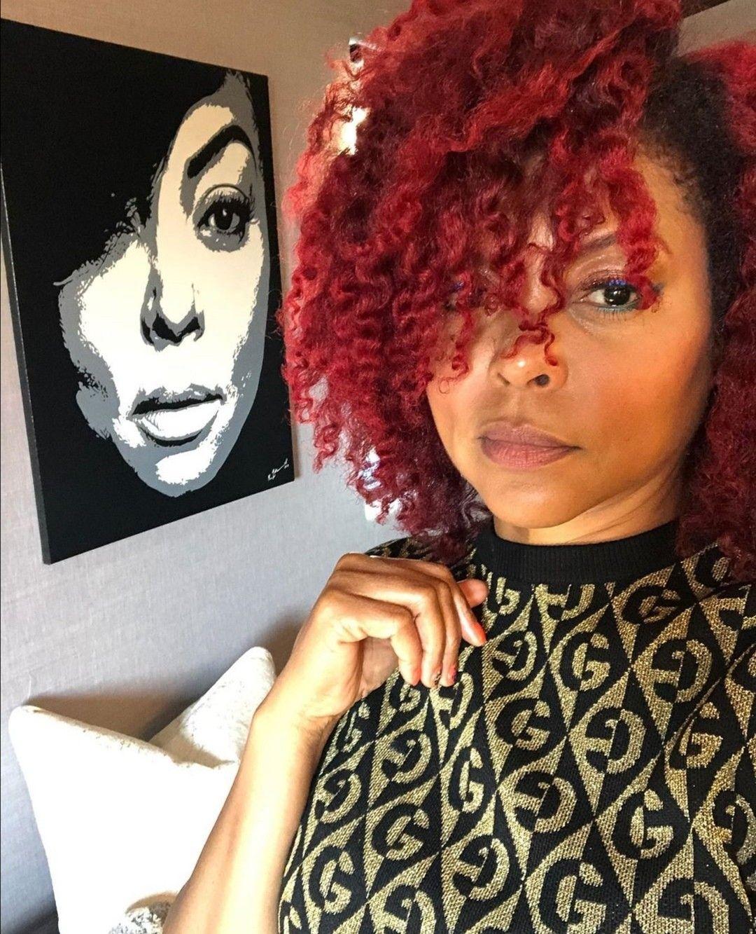 Taraji in 2020 Celebrity beauty, Sleek braid, Taraji