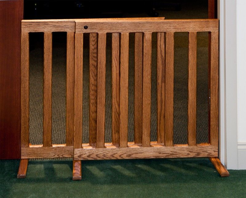 limited supply click image above adjustable wooden pet gate 48 inch oak - Puppy Gates