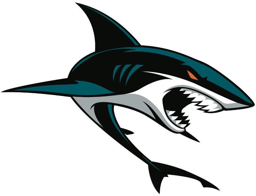 Pin Oleh Thaitanic Bencil Di Sharks Logos Gambar Hewan Binatang Ikan Hiu