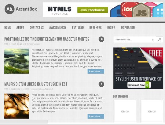Free Vibrant and Visually Appealing HTML5 WordPress Theme. Let us ...