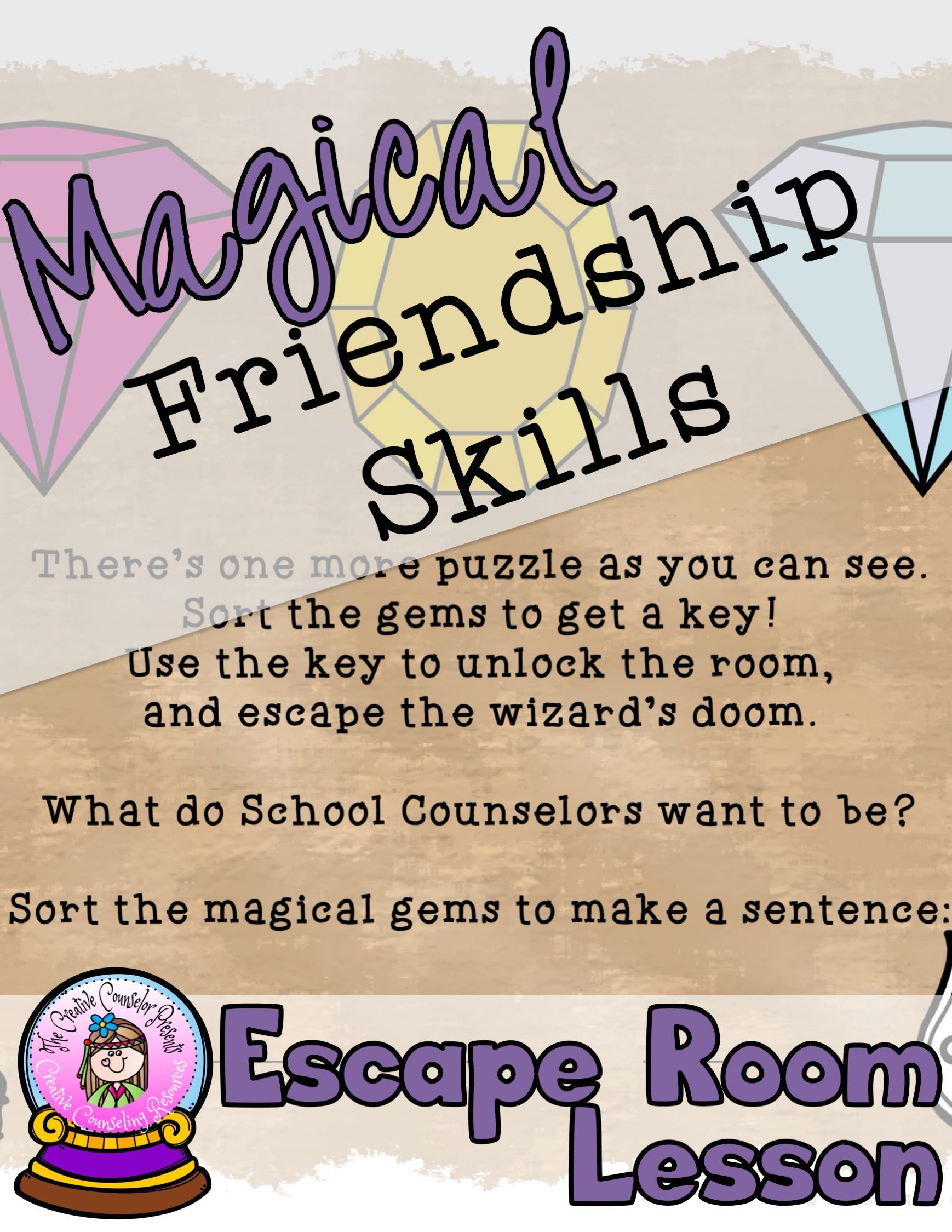 Magical Friendship Skills Escape Room Making And Keeping
