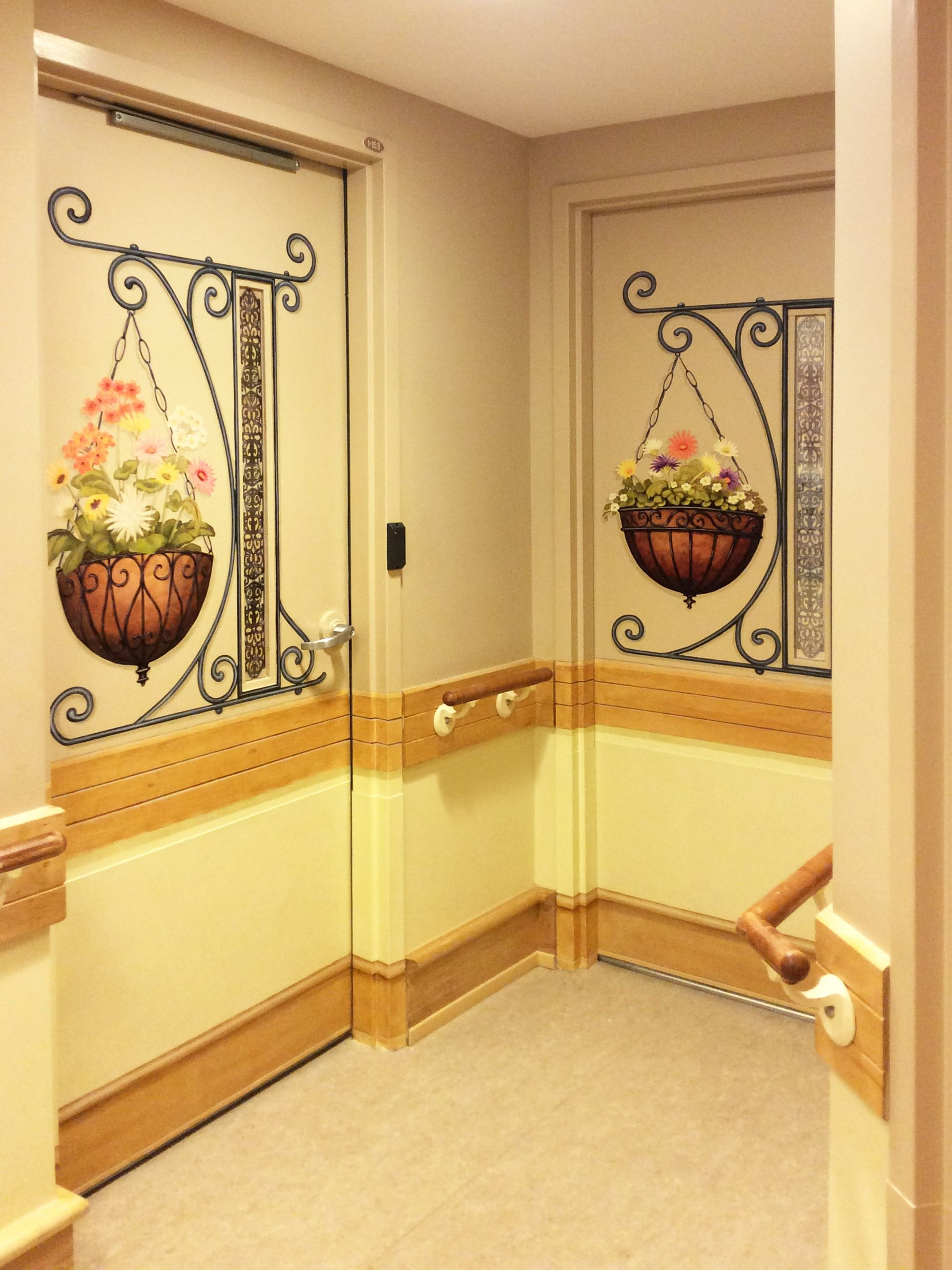 The Same Theme With A Twist Different Flower Baskets