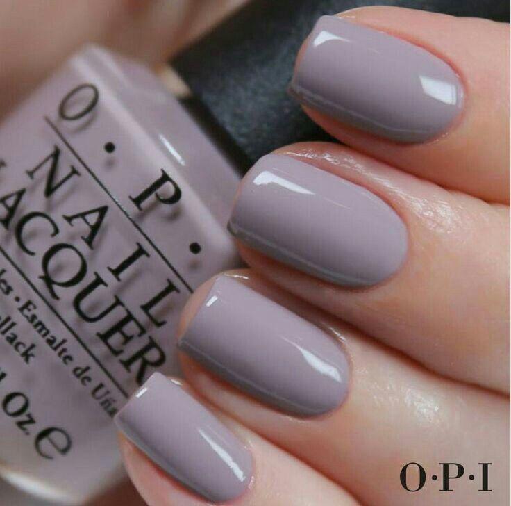 Greyish Purple Summer Nail Polish Colors Grey Opi