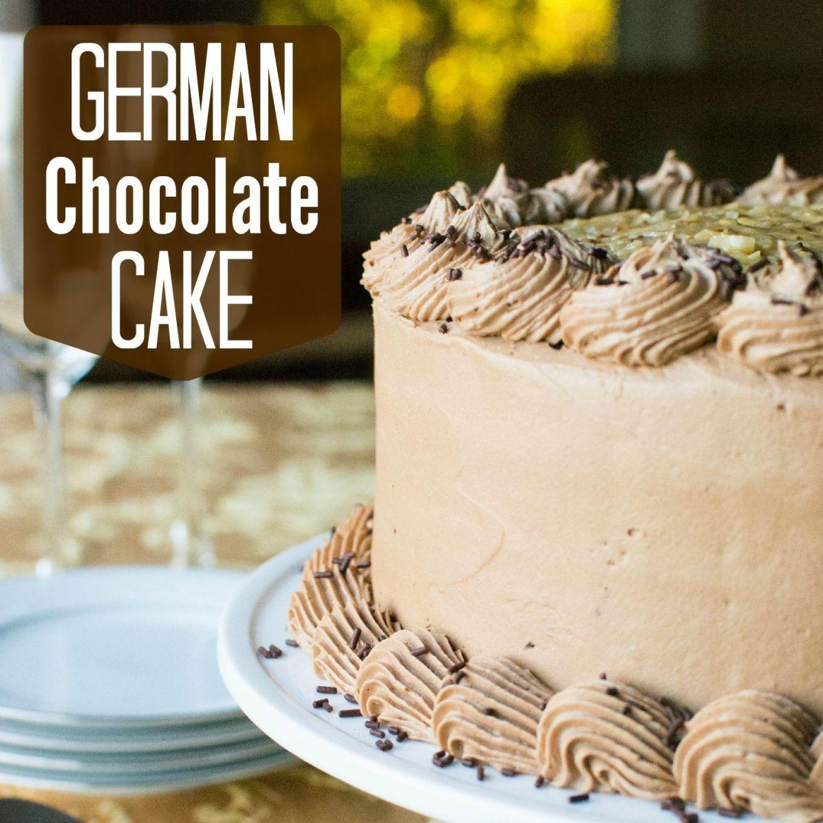 German Chocolate Cake - A baJillian Recipes