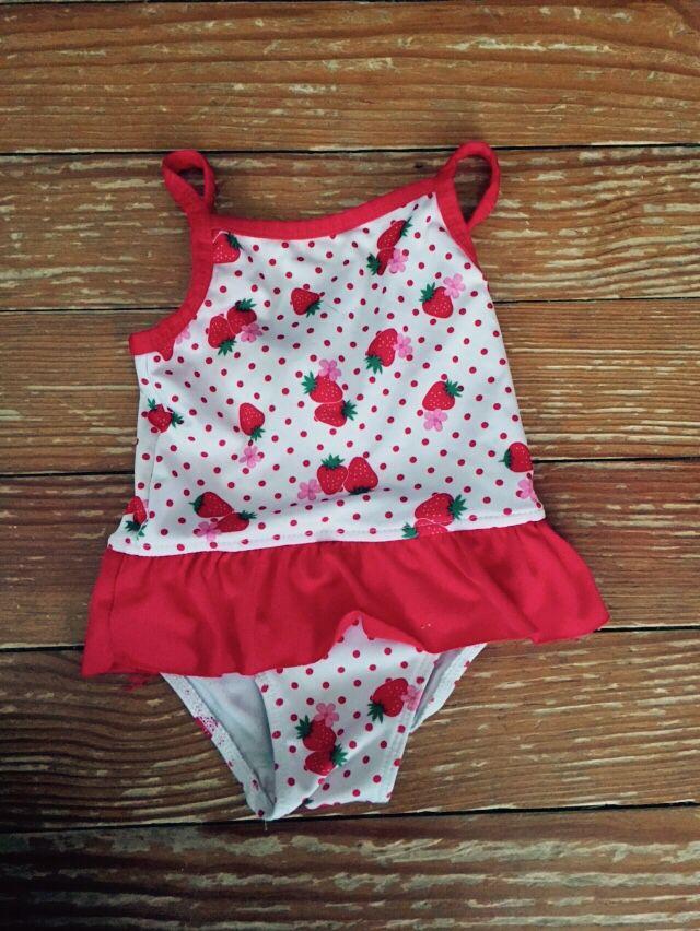 357fff9ffa Penelope Mack 12 months strawberry swimsuit | 12 months size ...