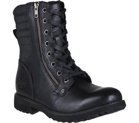 55033eaf43e LUGZ HANOVER MENS BOOT BLACK Lugz. $99.95. Molded sockliner. Leather ...