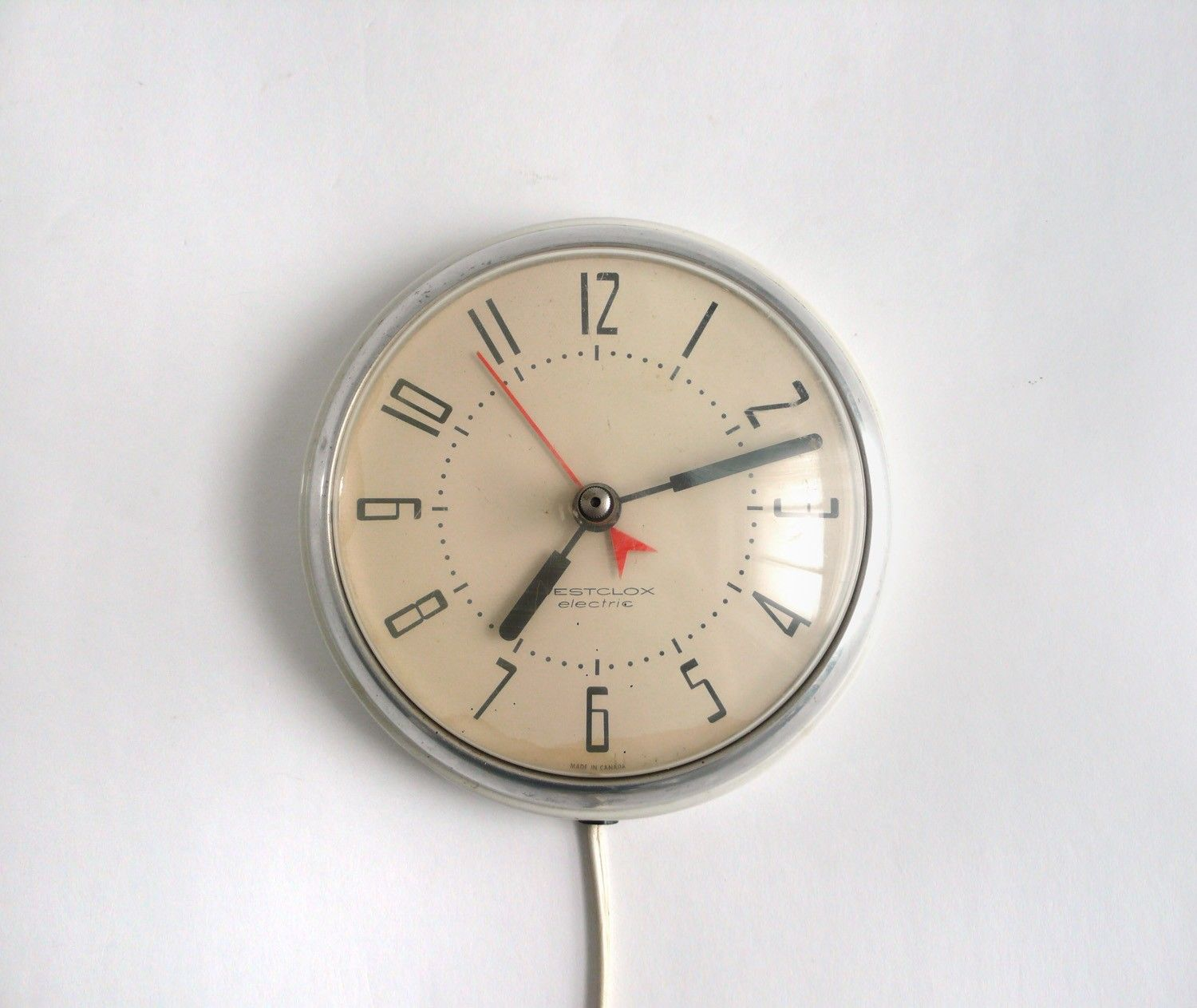 Modern Kitchen Clocks Vintage Corded Wall Clock Miscellaneous Clock Retro