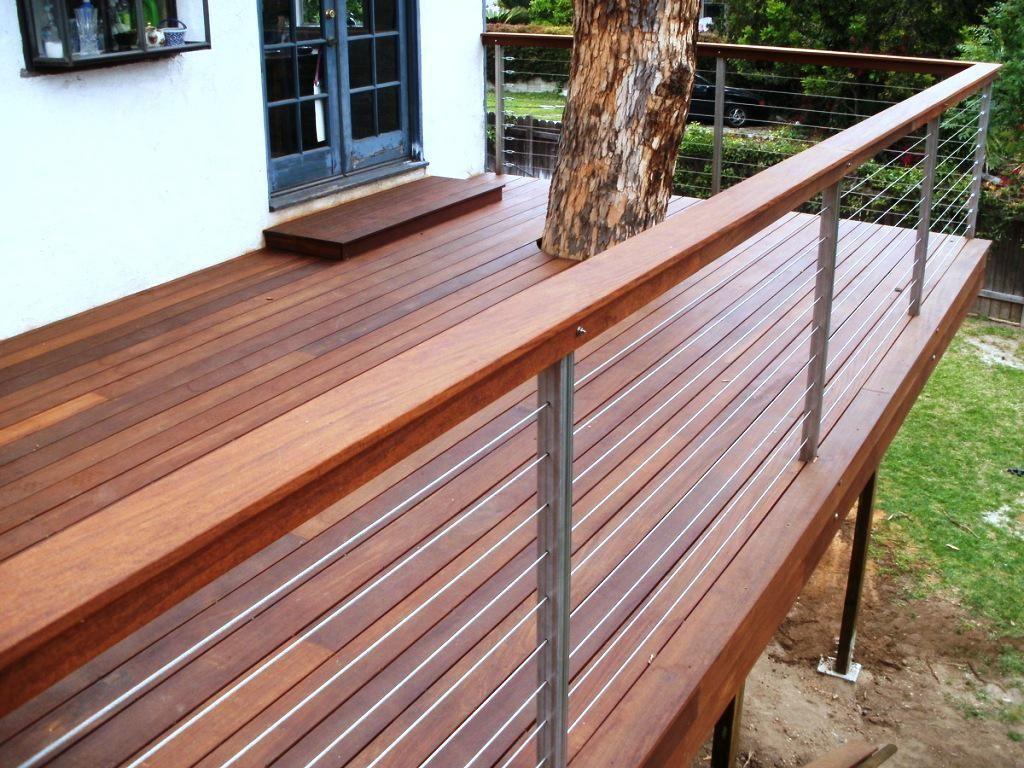 Cable deck railing cost - Decking Rail Google Search Deck Railing Designcable