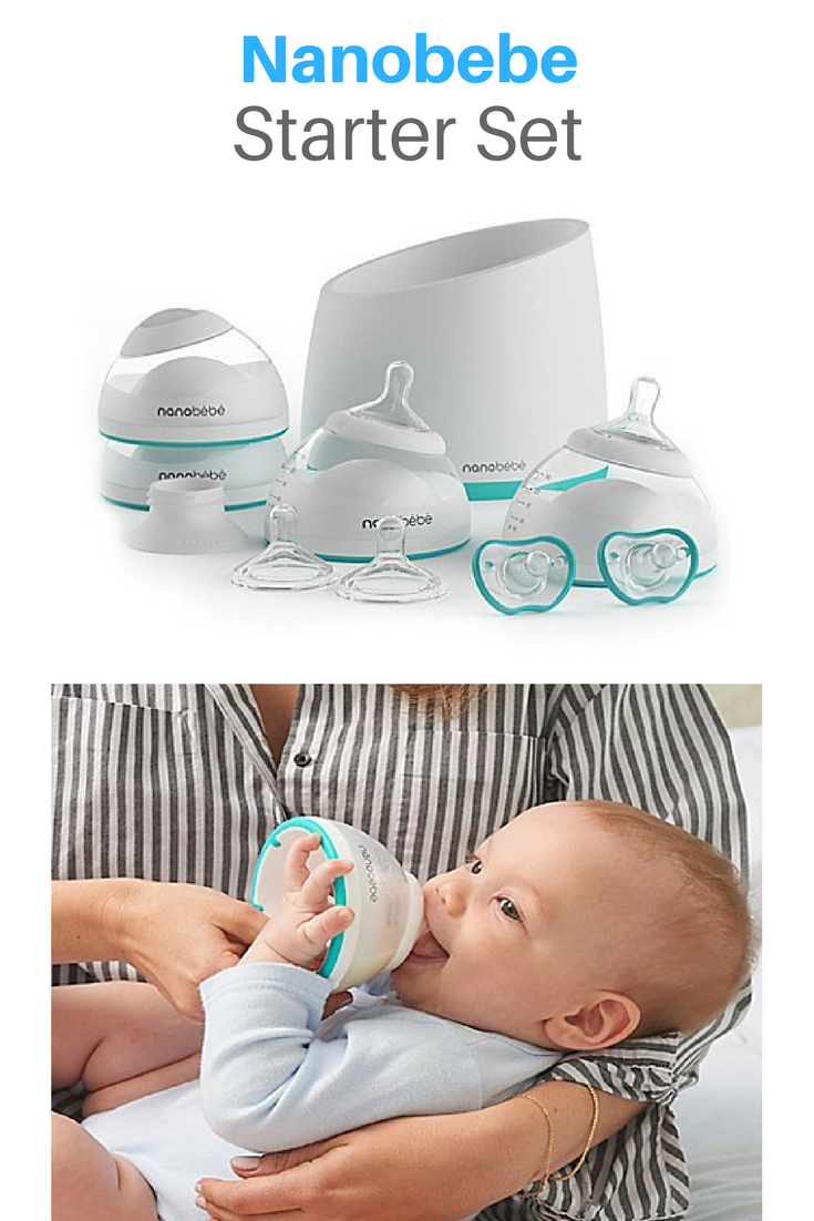 Nanobebe Bottle Newborn Feeding Starter Set