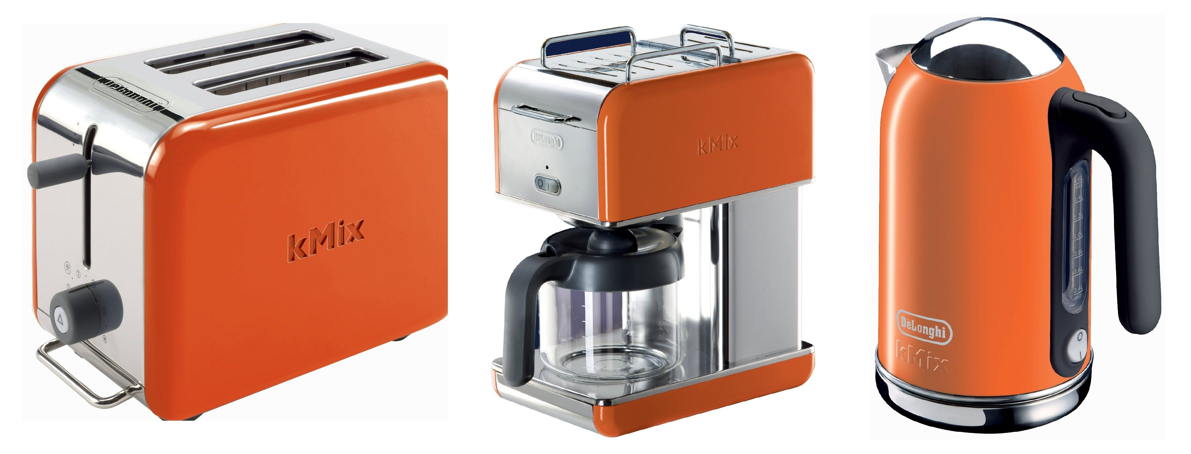 The Moment I Laid Eyes On These Colorful Kitchen Appliances From Delonghiu0027s  KMix Collection, I