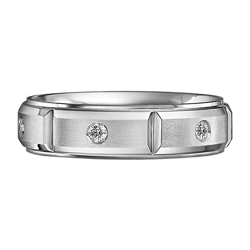 Scott Kay Men S Diamond Wedding Band In Palladium Mens Diamond Wedding Bands Wedding Bands Rings For Men
