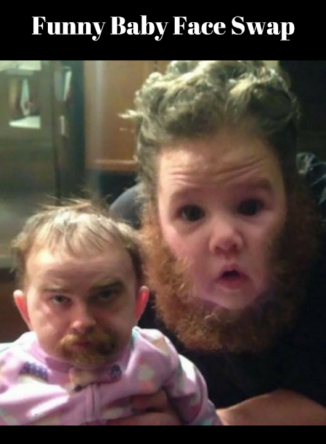 funny baby face swap random fun stuff to do and look at