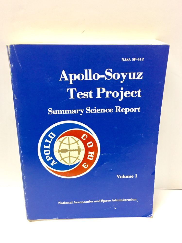 Apollosoyuz test project summary science report book