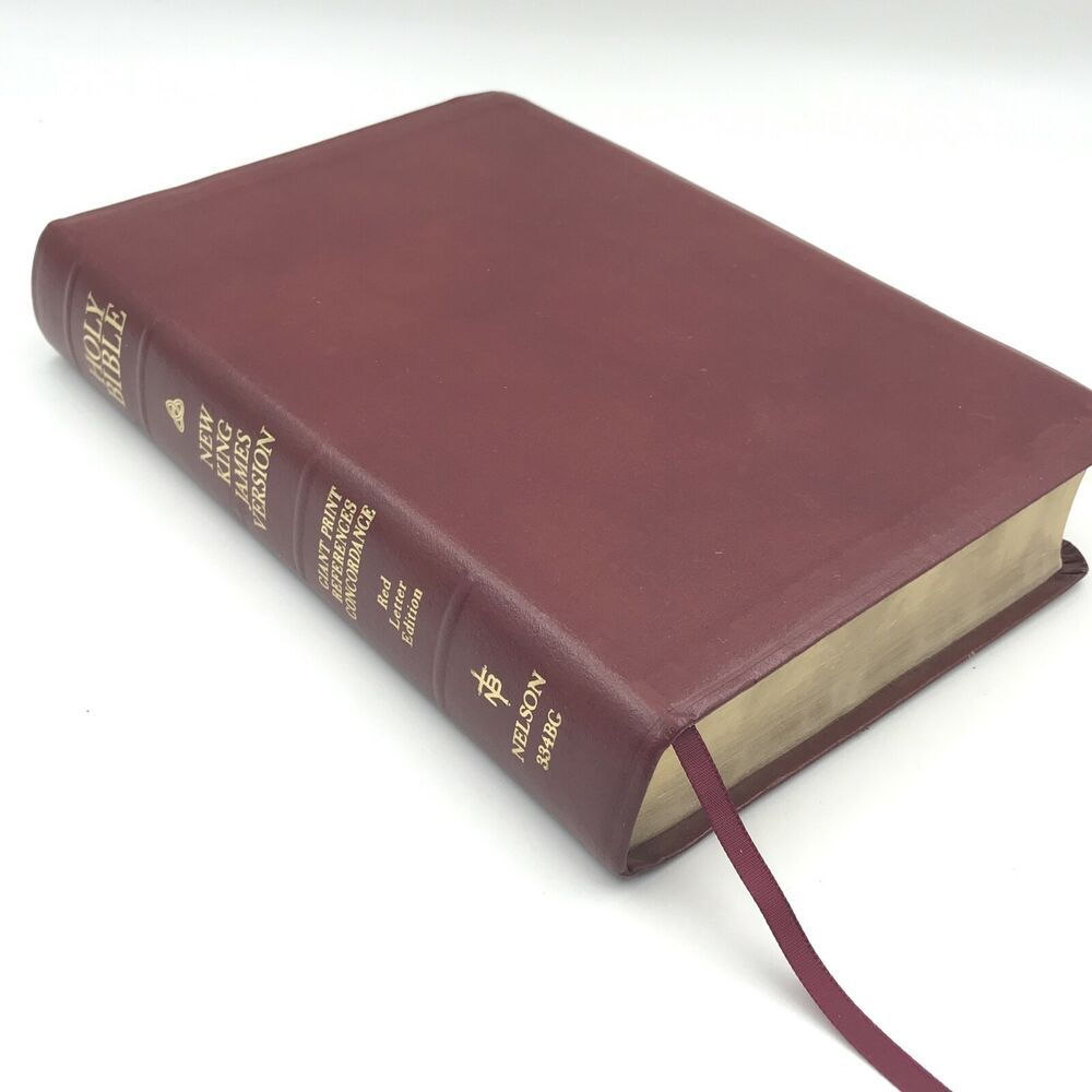 Giant Print HOLY BIBLE New King James Version Bonded