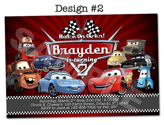 Disney Pixar Cars Lightning Mcqueen Mater Birthday Party Photo - Lightning mcqueen custom vinyl decals for cardisney pixar cars a walk down cars advertising memory lane take
