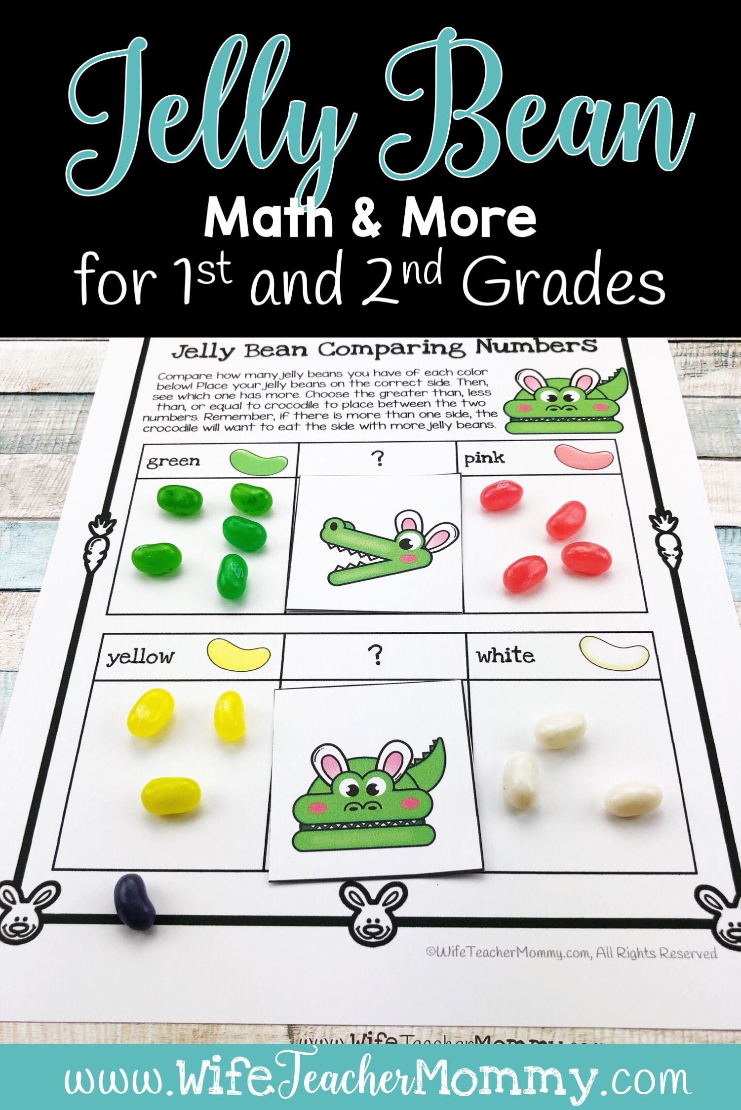 Easter Jelly Bean Math Amp More For 1st And 2nd Grades