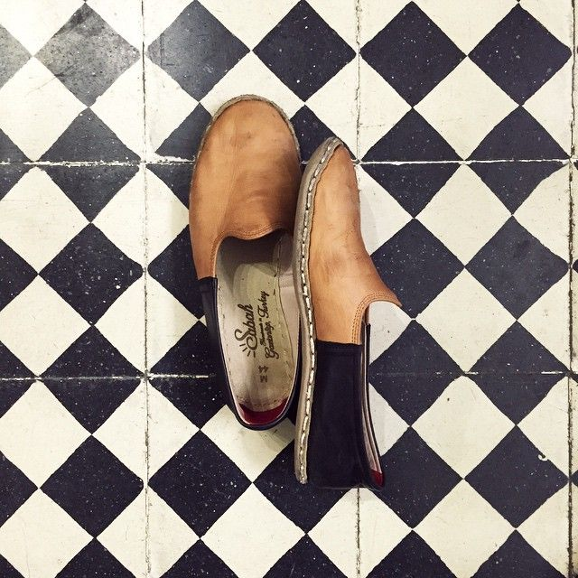 de0f23c57aab Sabah Shoes  Split Series - Black and Camel -- by Cem Dikici from  Gaziantep