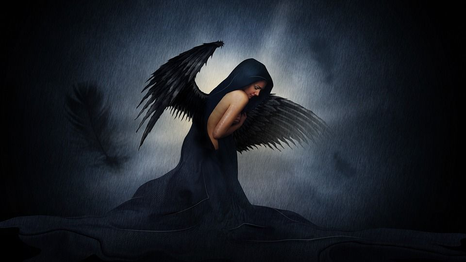 Красивые картинки темного ангела