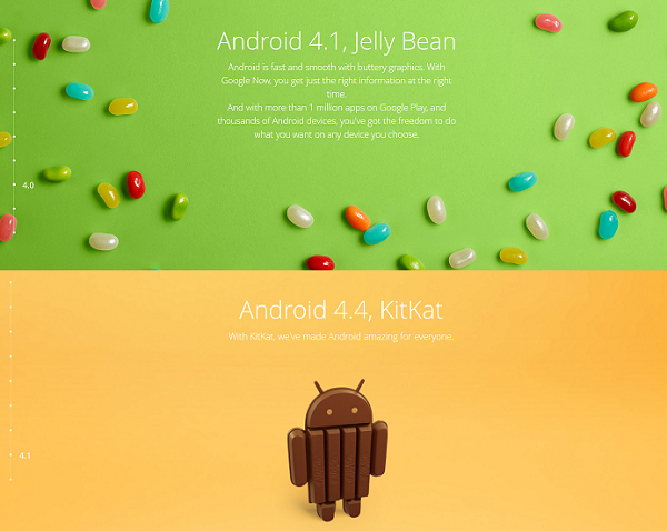 """""""android 4.3 vs. android 4.4 what's your phone's update"""