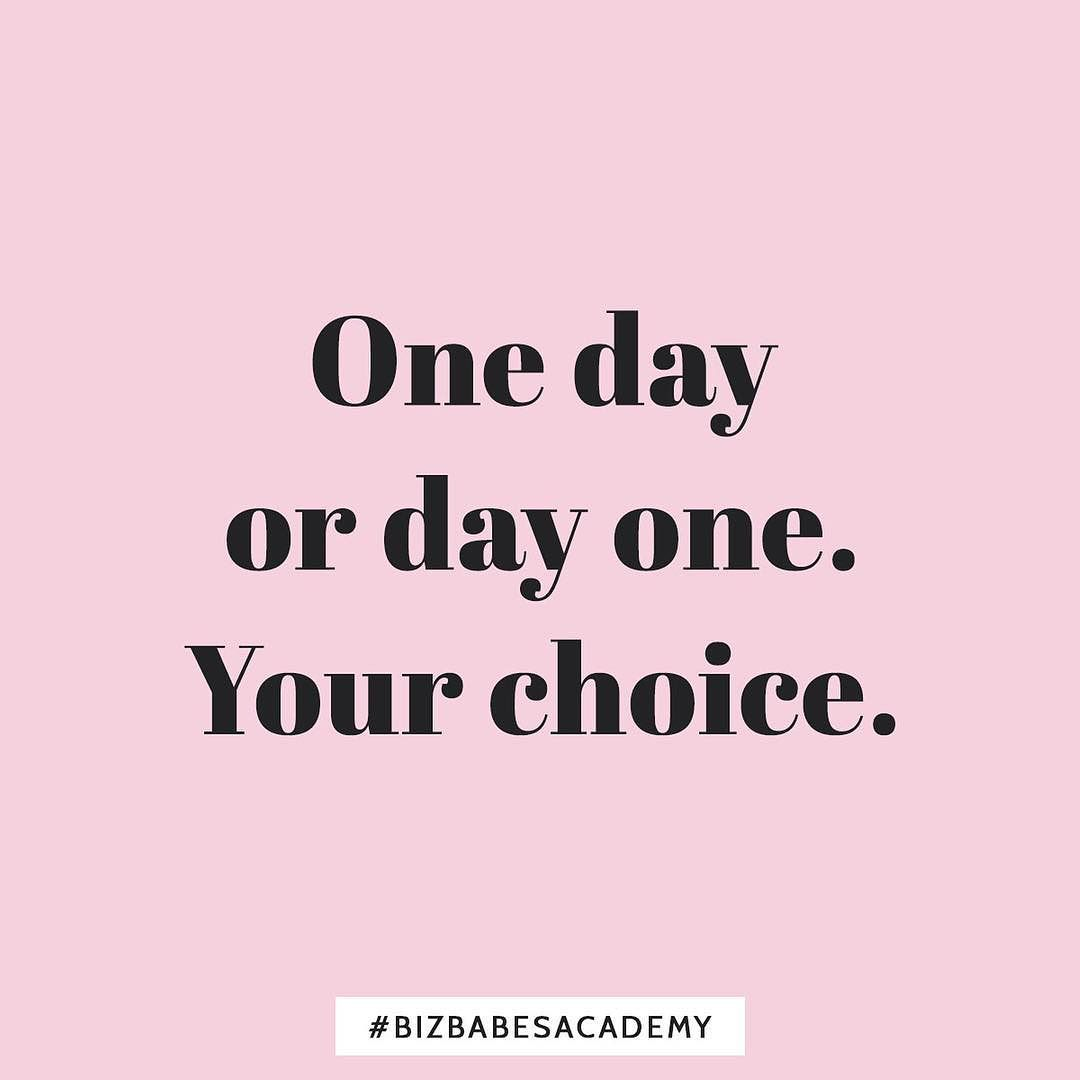 Today Can Be Either The Beginning Or The End Of One Of The Best Stories Of Your Life Either Take The Chance Business School Online Business Monday Motivation