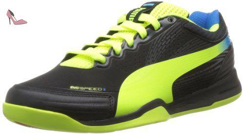 Puma Evospeed Indoor 3 2, Chaussures de football homme, Noir (01),