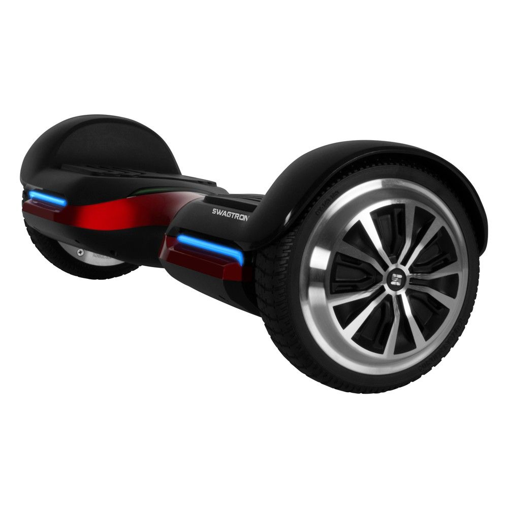 Swagtron T580 Hoverboard With Bluetooth Speakers Red