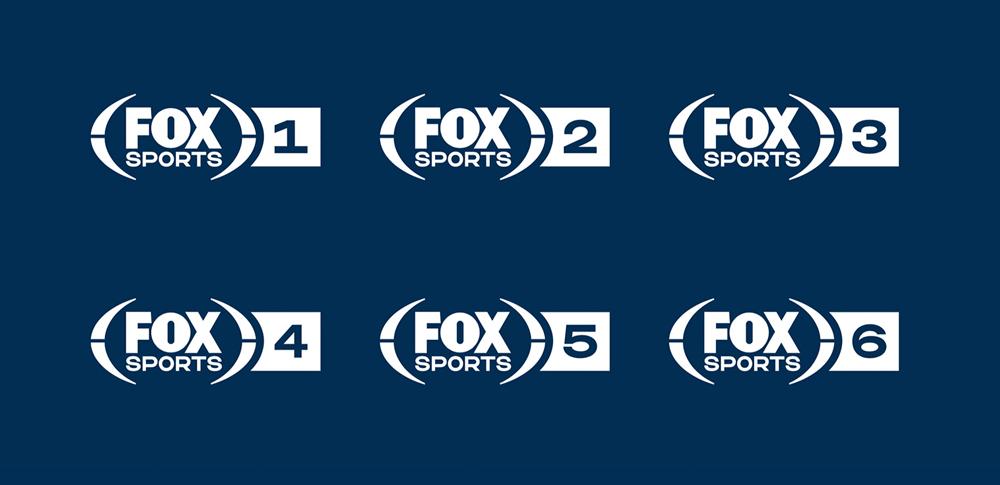 Brand New New Logo Identity And On Air Look For Fox Sports Netherlands By Dixonbaxi Fox Sports Identity Logo Identity