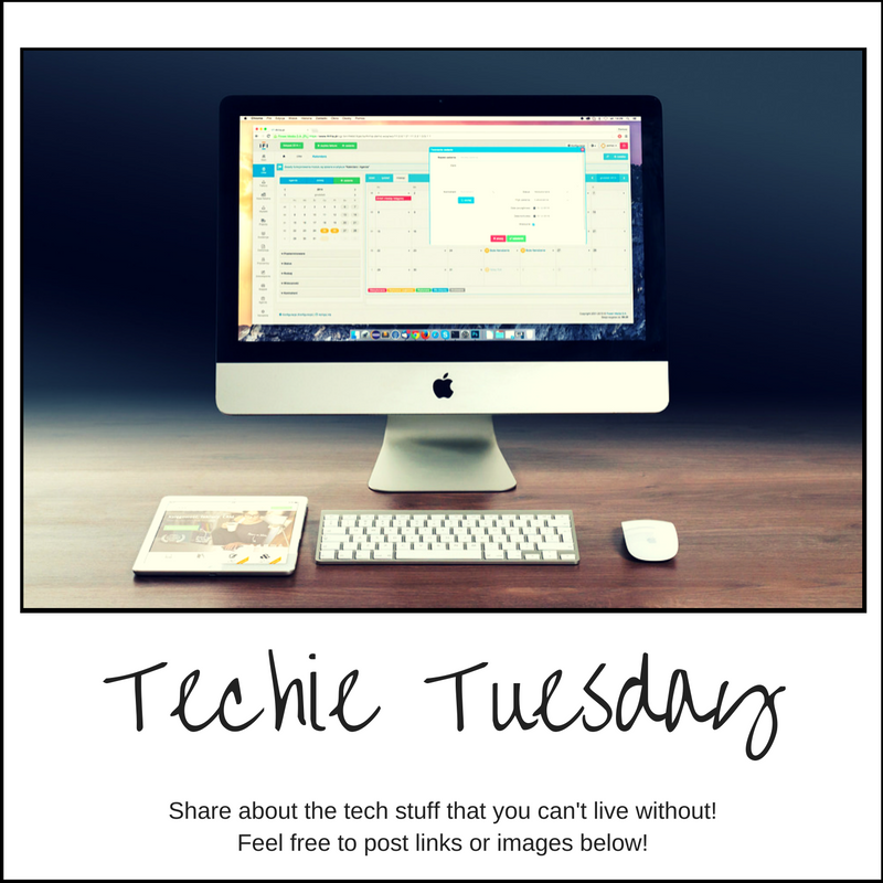 Tech is what drives my career. What tech stuff do you refuse to live without? What makes your life easier? Have you heard of a really cool new software or website? Share your favorites below!