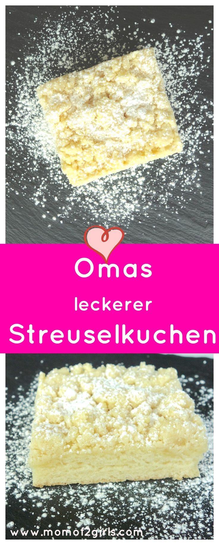 Omas leckerer Streuselkuchen #newgrandma