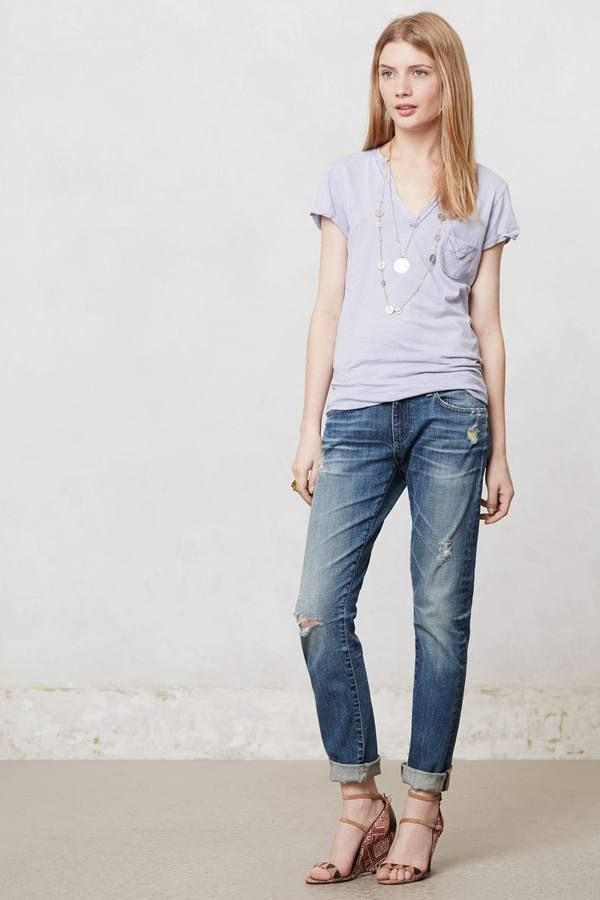 9faad815b589 Anthropologie AG Nikki Relaxed Skinny Jeans on shopstyle.com ...