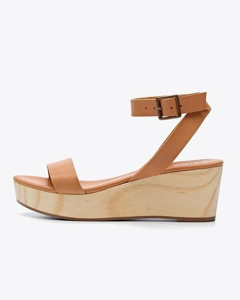 0298c81660e The Sarita Wooden Wedge is a go-to summer sandal. Handmade in an ethical  factory in León