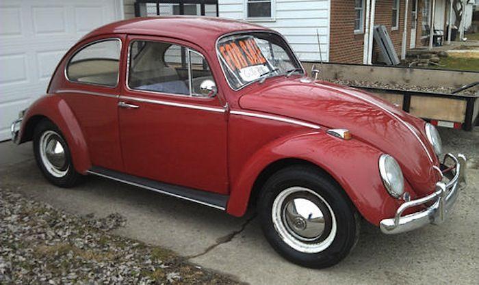 Ruby Red 1965 Volkswagen Beetle Paint Cross Reference Volkswagen Beetle Volkswagen Beetle