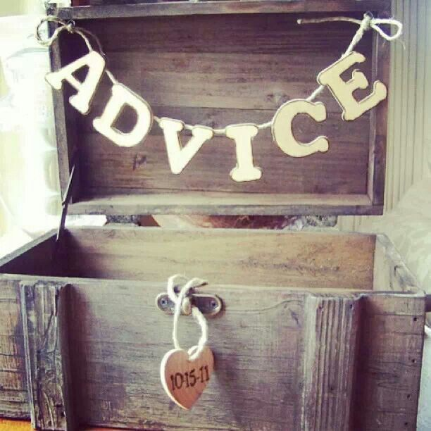 Advice for the Couple :)