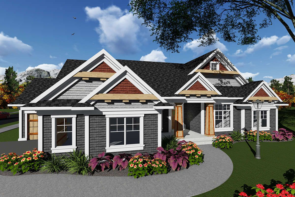 Craftsman House Plan 1020