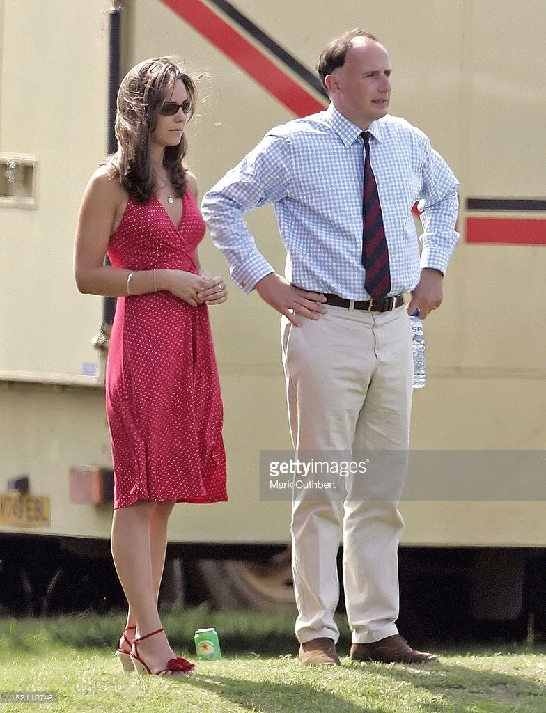 Kate Middleton Attends The Chakravarty Polo Match At Ham Polo Club