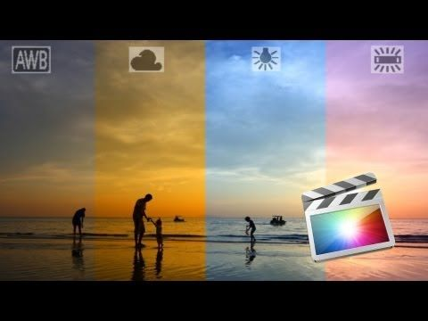Fix White Balance / Color Balance for Video Using FCPX