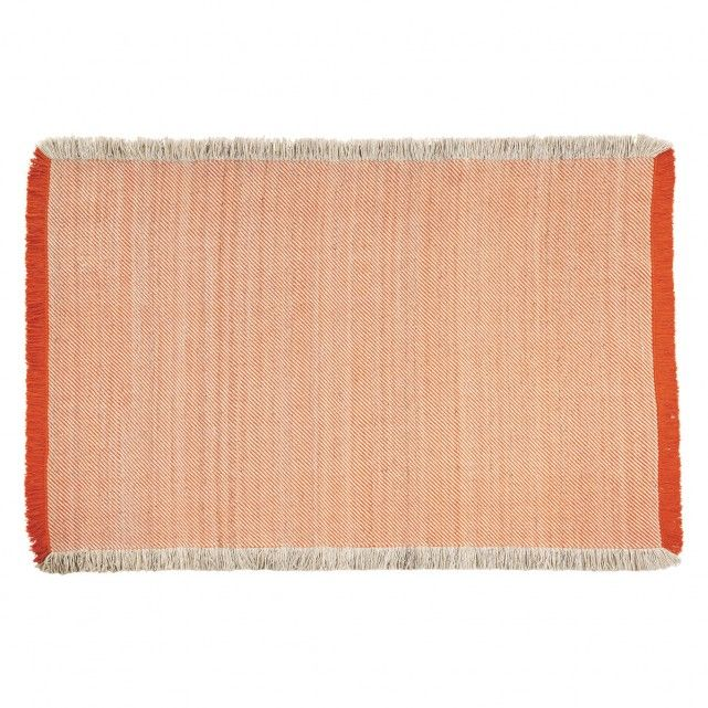Guest Room Rug Chelmsford Large Orange And Cream Flat Weave Rug 170 X 240cm Buy Now At Habitat Uk Rugs Flat Weave Rug Flat Weave